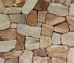 Aussietecture Irregular ranch walling stone, sandstone interior and exterior stone cladding veneer