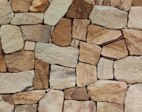 Ranch sandstone irregular flagstone walling