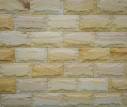 Aussietecture Rockface sandstone walling stone for interior and exterior wall design