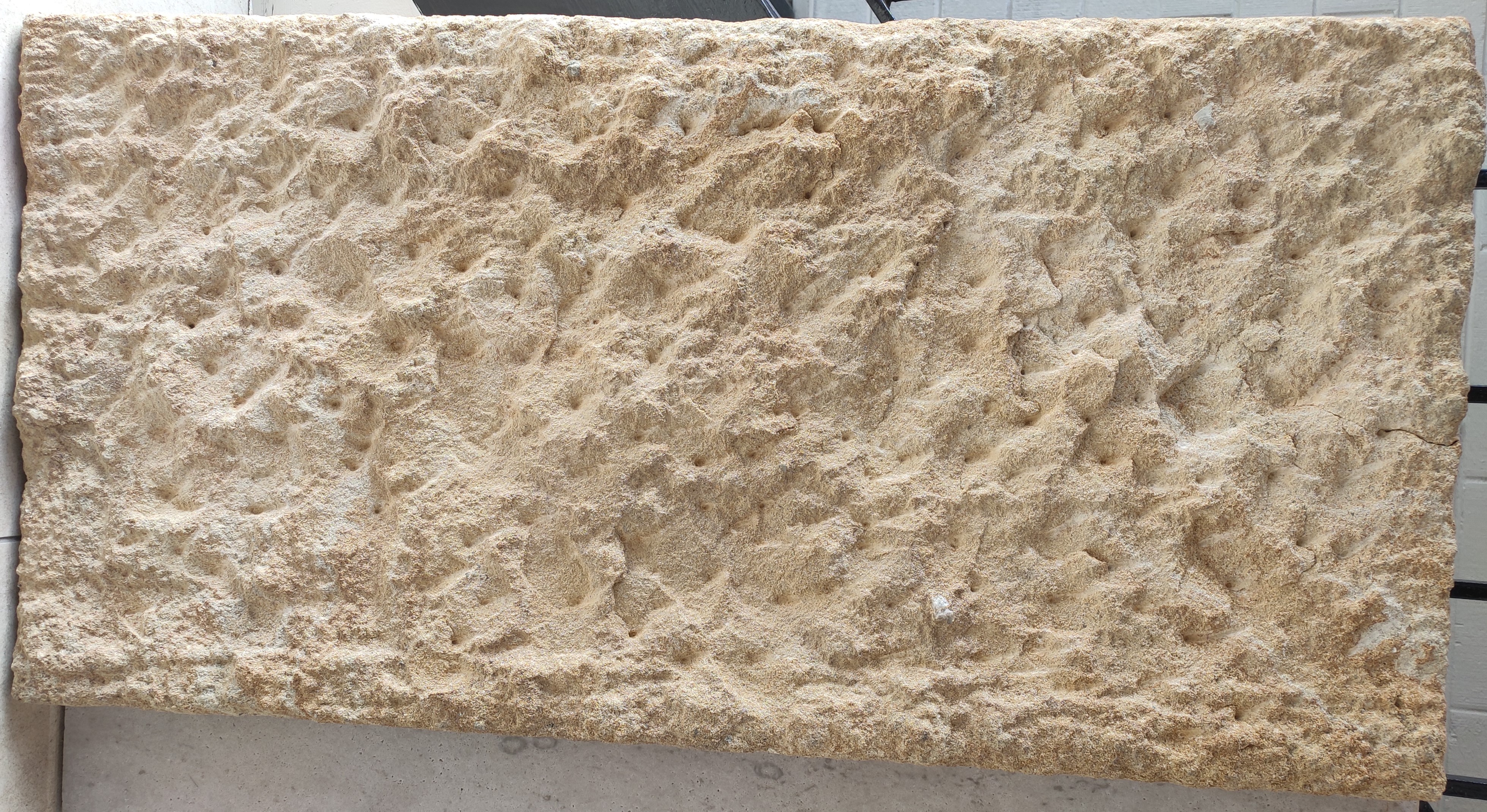 Aussietecture Clarence sandstone Walling product picture taken in Aussietecture Toowoomba factory