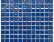 Aussietecture Barcelona swimming pool mosaic, blue glass mosaic for pool tiling