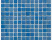 Aussietecture Bora swimming pool mosaic, blue glass mosaic for pool tiling