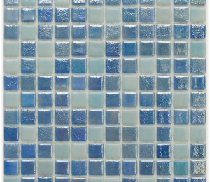 Aussietecture Sydney Mix swimming pool mosaic, mixed colour glass mosaic for pool tiling