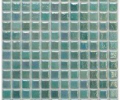 Aussietecture Tahiti swimming pool mosaic, green glass mosaic for pool tiling