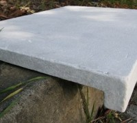 Limestone pool coping stone