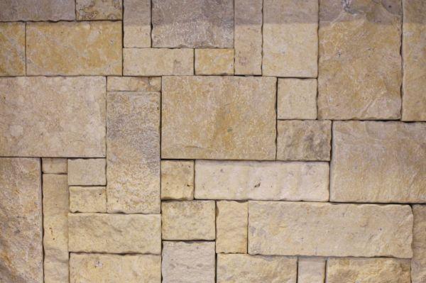 Simson limestone wall cladding, stone walling for sale