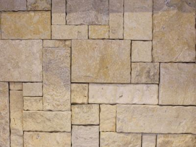 Simson limestone wall cladding, stone walling for sale