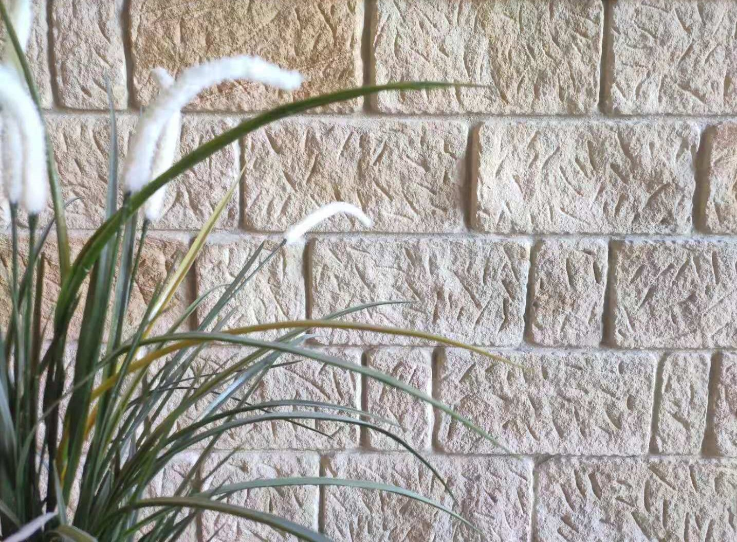 Antique Sandstone wall cladding used in a walling project
