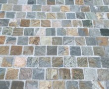 Quorn Quartzte Brick Pattern cobblestone flooring