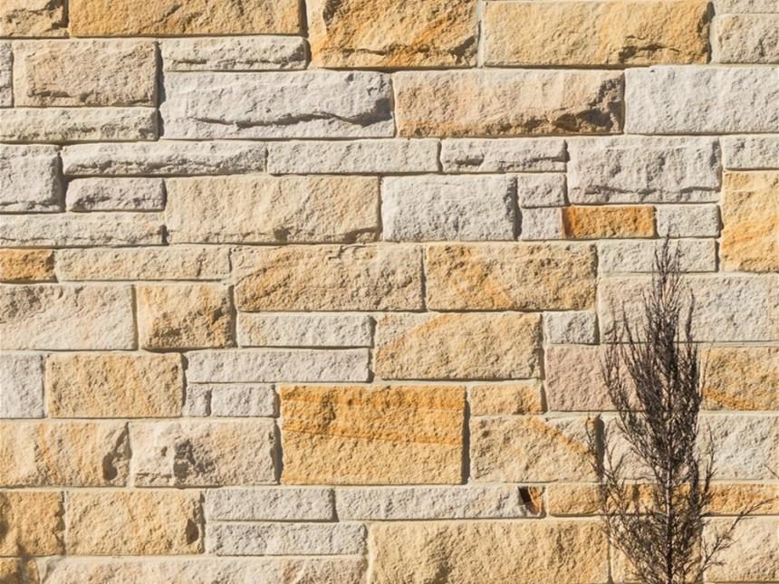 3 set split face stone cladding