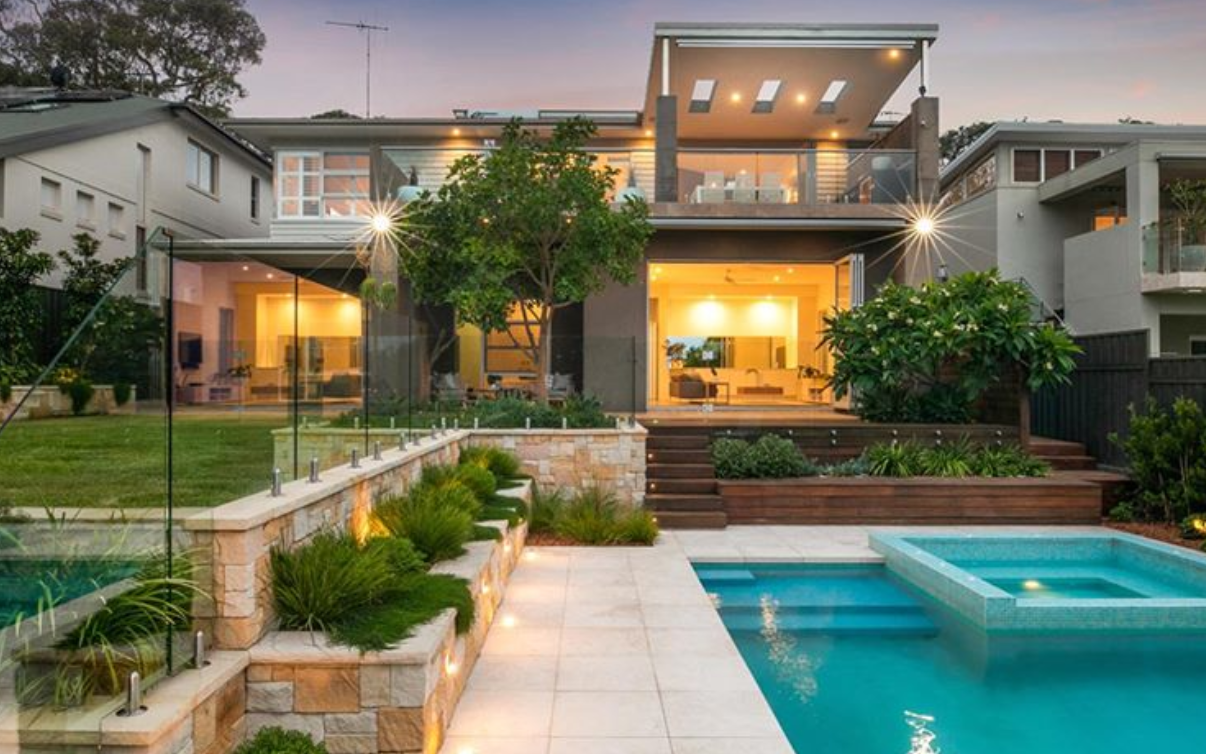 Residential projects by @ph_landscape_design using Aussietecture limestone paver and sandstone cladding