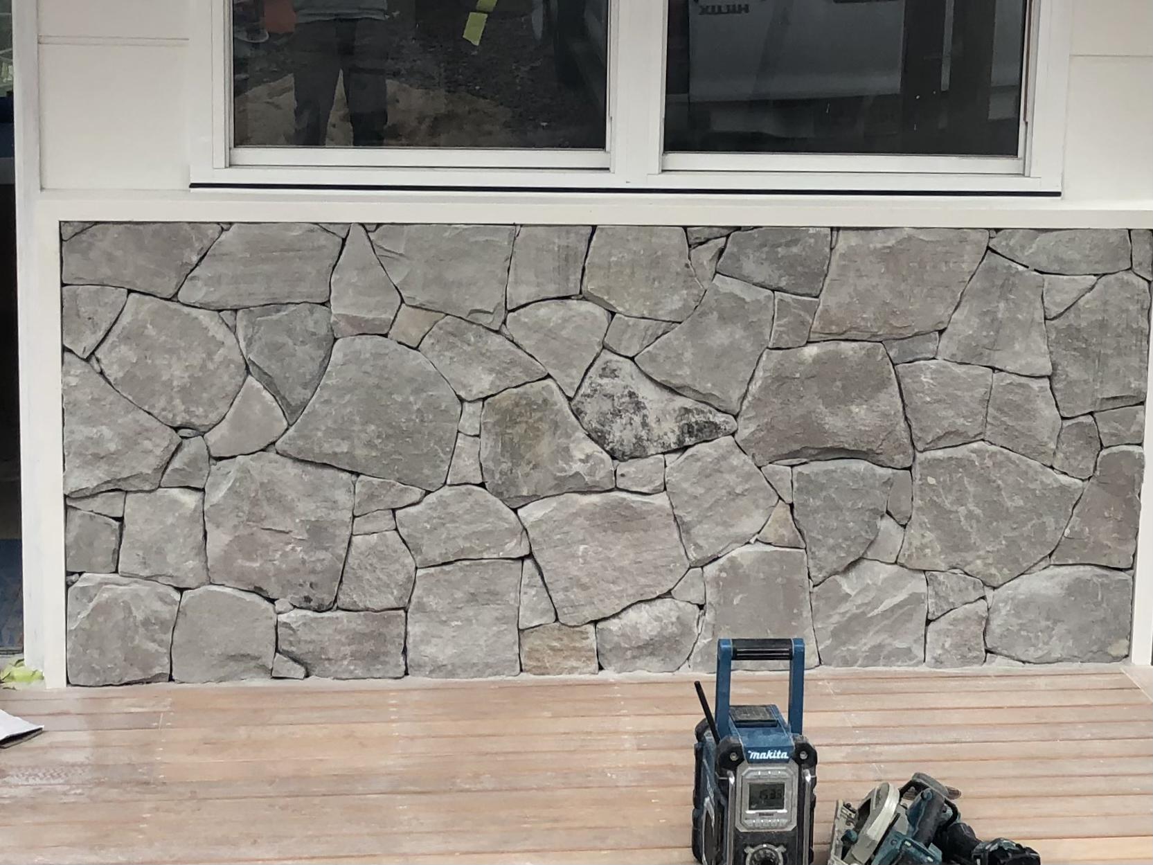 Orford Grey sandstone cladding