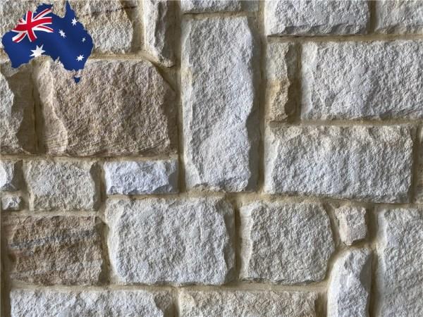 Australian sandstone rustic walling