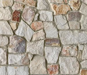 Burnie irregular walling