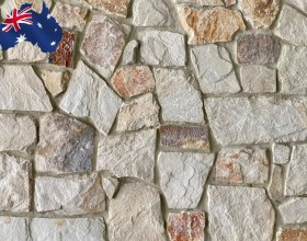 Burnie irregular walling stone for interior and exterior walls