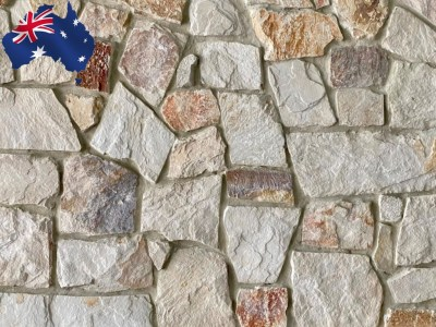 Burnie irregular walling stone for interior and exterior walls on sale