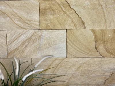 Australian banded kirra sandstone cladding