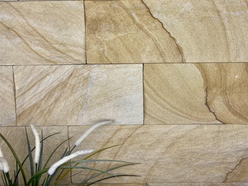 Australian banded kirra sandstone