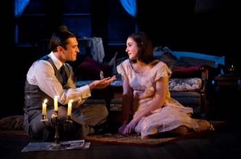 Nic English and Kate Cheel in The Glass Menagerie. Image by Matt Nettheim