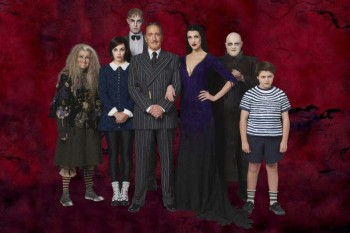 The Australian cast of The Addams Family