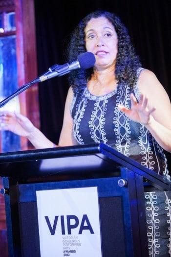 Rachael Maza presenting at VIPA 2012
