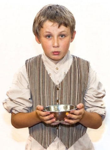 Oliver Noakes will share the role of Oliver