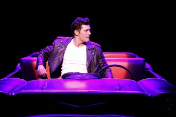 Rob Mills as Danny in GREASE. Image by Jeff Bubsy