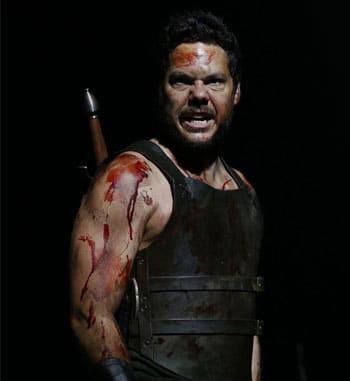 Jason Klarwein as Macbeth - Queensland Theatre Company [image: Rob Maccoll]