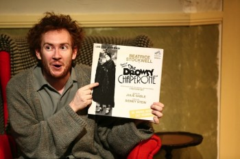 Jay James-Moody in Squabbalogic's The Drowsy Chaperone. Image by Michael Francis of Francis Fotography