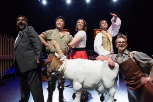 Lyric Opera Melbourne. L'heure espagnole. Photo by Kris Wasahusen