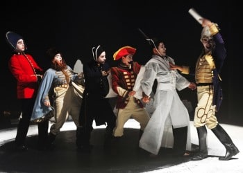 Watch This' production of Pacific Overtures. Image by Jodie Hutchinson.