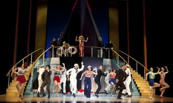 The Anything Goes company. Image by Belinda Strodder