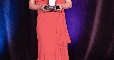 Georgina Hopson, winner of the 2017 Rob Guest Endowment