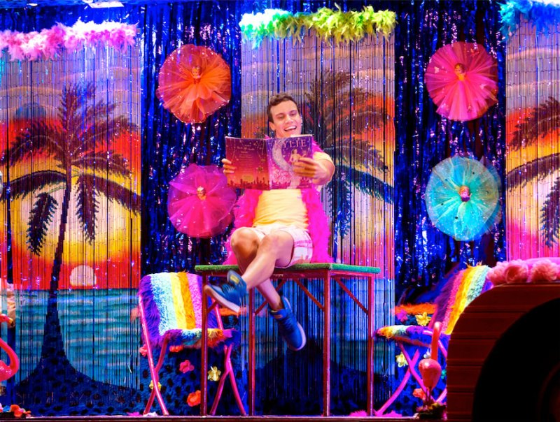 Euan Doidge as Adam in Priscilla the Musical