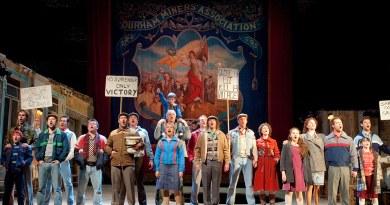 Billy Elliot Original London Production   Photo by Alastair Muir