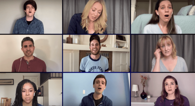 "Watch Ben Platt and the cast of DEAR EVAN HANSEN remotely perform ""You Will Be Found"""
