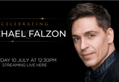 A funeral service and musical celebration for beloved Australian entertainer Michael Falzon will take place in Sydney today