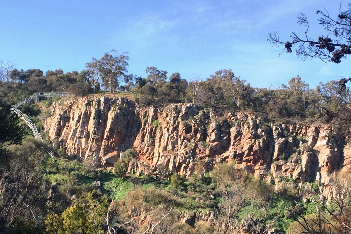ONKAPARINGA RIVER NATIONAL PARK, BAKER'S GULLY