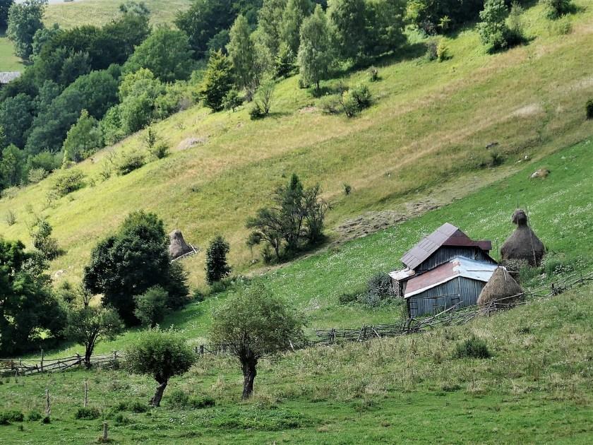 Bran to Magura, Walking in Romania