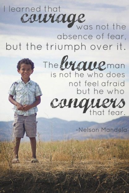 Courage quote Mandela