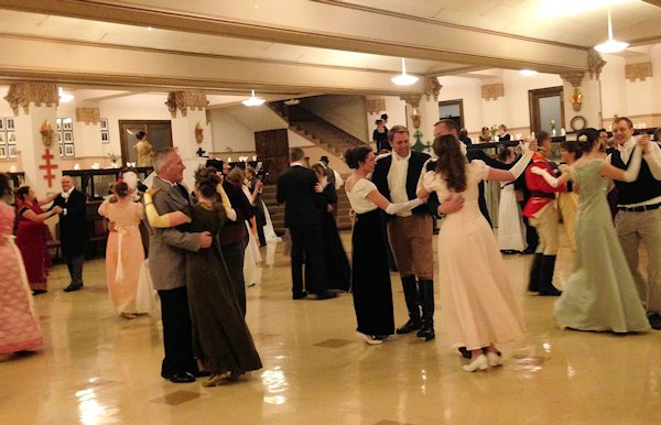 Regency Ball Dancers