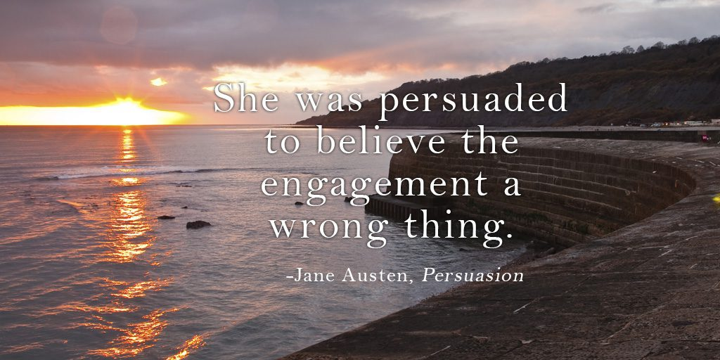 Persuasion in Pride & Prejudice + Giveaway