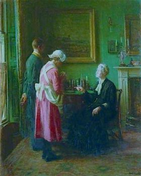 Housekeepers room by Fredrick William Elwell