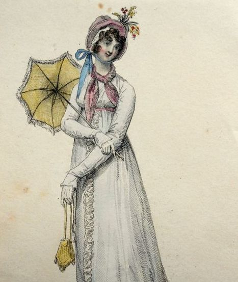 A Brief History of the Parasol, by Sharon Lathan