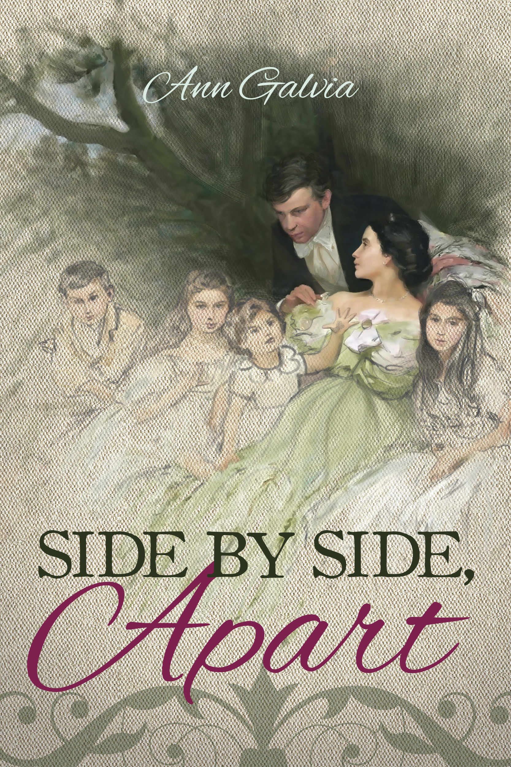 Side by Side, Apart by Ann Galvia