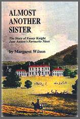Image of the front cover of Almost Another Sister, by Margaret Wilson(1998)