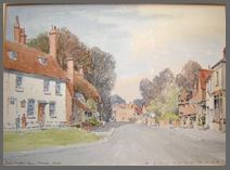 Image of a watercolour painting of ChawtonCottage