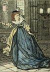 Illustration of Mrs. Siddons as Lady Macbeth