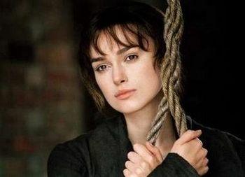 Keira Knightley as Elizabeth Bennet, Pride & Prejudice (2005)