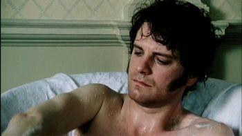 Mr. Darcy in the tub, Pride and Prejudice (1995)